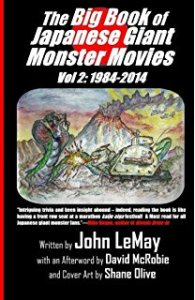Book Review The Big Book Of Japanese Giant Monster Movies Vol 2