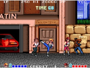 Video Game Review Double Dragon Arcade Talking Pulp